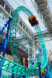 Looping Rollercoaster. At Mall of America, Minnesota Royalty Free Stock Image