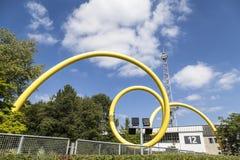 Looping sculpture  in Berlin Royalty Free Stock Image