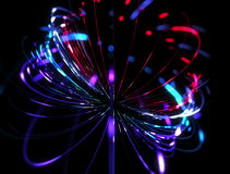 Looping Spirograph Orb Rotating stock video footage