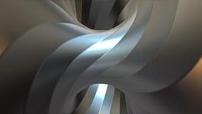 Looping stali torusa tunelu kręcona animacja Różnica 1 ilustracji