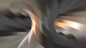 Looping stali torusa tunelu kręcona animacja Różnica 3 ilustracji