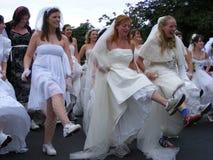 Looppas van de Pret van Ierland de Bruids Stock Afbeeldingen