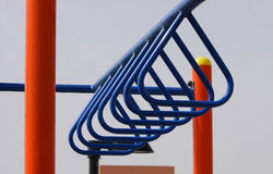 Loops of horizontal loop ladder Stock Photos