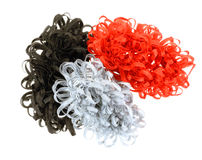 Loopy Hair Holders Group Royalty Free Stock Image