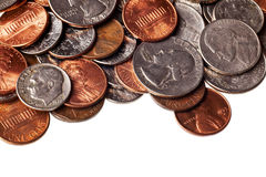 Loose change Stock Images