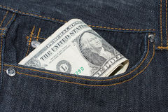 Loose Change Pocket Money Concept Stock Photography