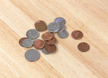 Loose change Stock Photo