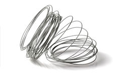 Loose Coil of Wire Stock Photos
