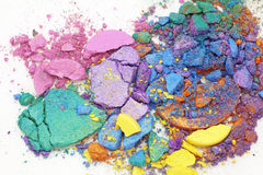 Loose eyeshadows Royalty Free Stock Photography