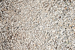 Loose gravel texture with natural imperfection Stock Photography