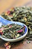 Loose green tea Royalty Free Stock Photos