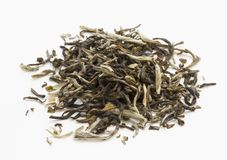 Loose green tea with jasmine Royalty Free Stock Photo