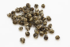 Loose green tea pearl jasmine Royalty Free Stock Photo
