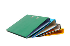 Loose-leaf binder Stock Photo