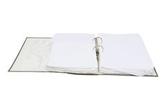 Loose-leaf binder Stock Image