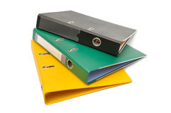Loose-leaf binder Royalty Free Stock Images