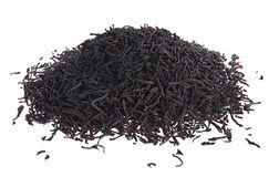 Loose leaf black tea Royalty Free Stock Images
