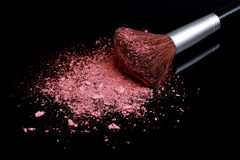 Loose Make Up Foundation Close Up With Detail Royalty Free Stock Photo