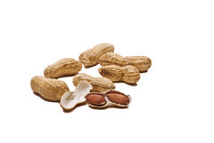 Loose Peanuts Stock Image