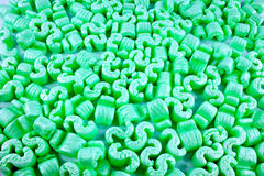 Loose polystyrene  Royalty Free Stock Images