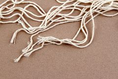 Loose strands Royalty Free Stock Photo