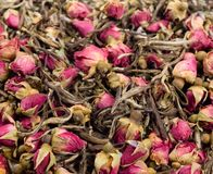 Loose Tea. Close up of loose tea Royalty Free Stock Photos