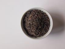 Loose tea bowl Royalty Free Stock Photo