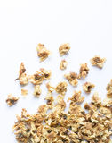 Loose-tea , Oolong flower tea. On white background Royalty Free Stock Photo