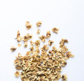 Loose-tea , Oolong flower tea. On white background Royalty Free Stock Photography