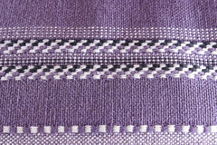 Loose weave pillow Royalty Free Stock Photos