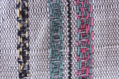 Loose weave pillow Royalty Free Stock Photography