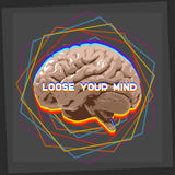Loose your mind Royalty Free Stock Photography