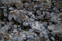Loosely cemented rocks, edited for seamlessly tileable/repeatabl Royalty Free Stock Photos