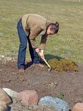 Loosening soil 2 Stock Photos