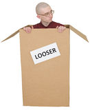 Looser man Royalty Free Stock Image