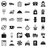 Loot icons set, simple style. Loot icons set. Simple set of 36 loot vector icons for web isolated on white background Royalty Free Stock Photography