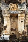 Looted temple ruins sukhothai thailand Stock Photos
