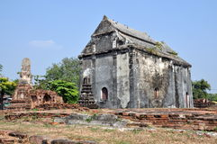Lop Buri, Thailand: Temple Ruins Stock Photography