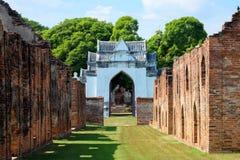 Lopburi 12月30日:Narai的Palace国王12月30,2015的在Muang Lopb 免版税库存图片