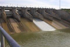 Lopburi de béton de barrage de jolasid de Pasak photos stock