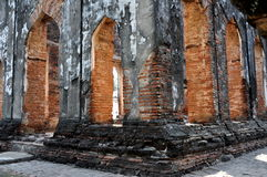 Lopburi, Thailand: King Narai's Throne Room Royalty Free Stock Images