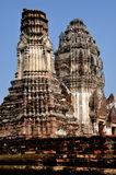 Lopburi, Thailand Majestic Prangs at Thai Waty Royalty Free Stock Photos