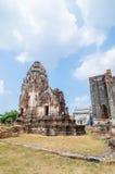 Lopburi, Thailand : Wat Phra Sri Rattana Mahathat. Stock Photos