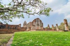 Lopburi, Thailand : Wat Phra Sri Rattana Mahathat. Royalty Free Stock Image