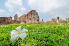 Lopburi, Thailand : Wat Phra Sri Rattana Mahathat Stock Image