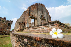 Lopburi, Thailand : Wat Phra Sri Rattana Mahathat. Royalty Free Stock Photo