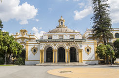 Lope de Vega -Theater, Sevilla, Spanien lizenzfreies stockbild