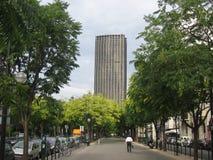 Lopend aan het werk, Parijs stock fotografie
