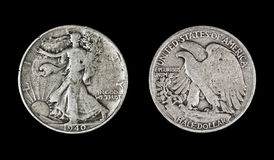 Lopend Liberty Half Dollar, 1940 Royalty-vrije Stock Afbeelding
