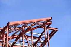Lopende bouwconstructie E royalty-vrije stock foto